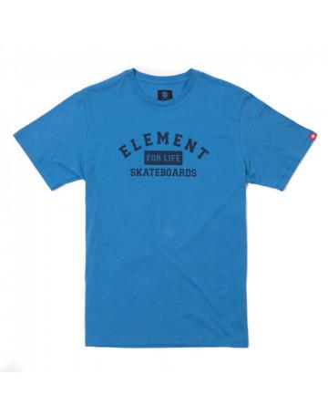 Camiseta Element For Life - Azul
