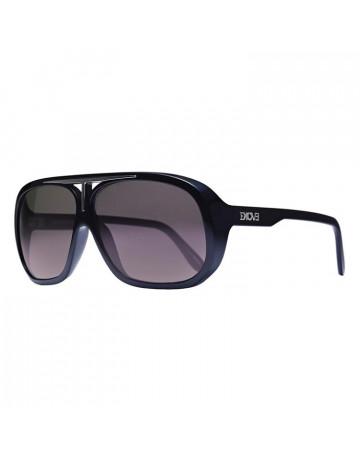 óculos de Sol Evoke Evk 01 Black Shine Fumê