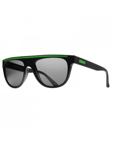 85da9f7e0e337 Óculos de Sol Evoke Evk 07 Black Shine Green Fumê