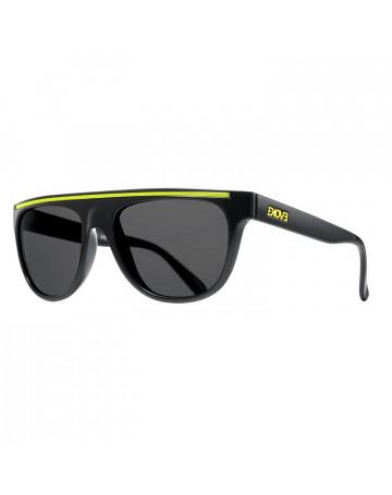 Óculos de Sol Evoke Evk 07 Black Yellow Fumê
