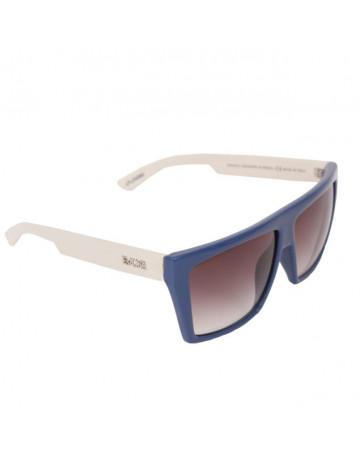 Óculos de Sol Evoke 15 D01 Blue Beige Azul e Branco