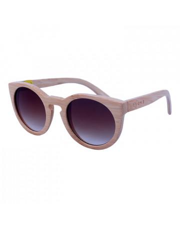 Óculos de Sol Evoke Wood Series 03 Clear Wood Laser Brown