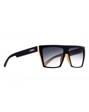 406568448cf70 Óculos de Sol Evoke EVK 15 Afroreggae Black Yellow Matte Gray Total ...