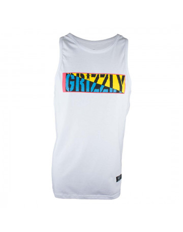 Regata Grizzly Sun Skate - Branco