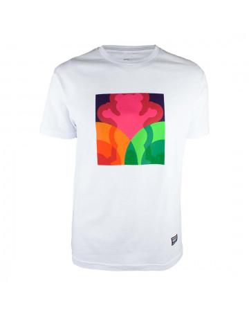 Camiseta Grizzly Prism - Branco