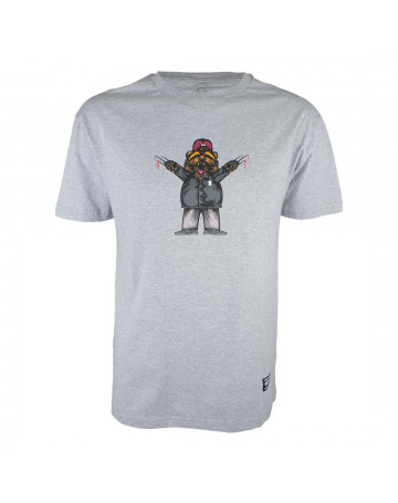 Camiseta Grizzly Carnivore - Cinza