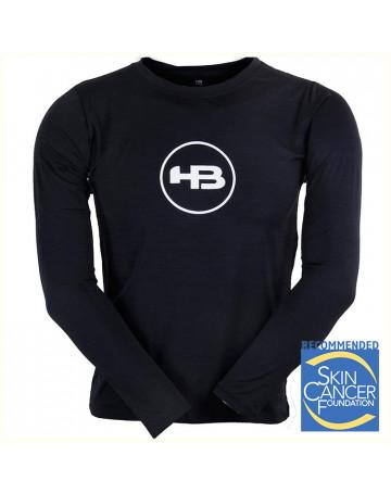 Camiseta HB Lycra Minor Token Mescla Preta