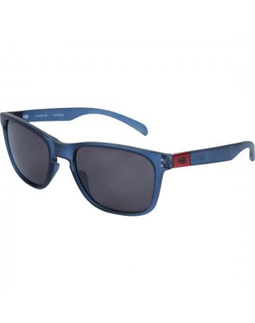 Óculos de Sol HB Gipps II Matte Transparent Blue Fumê Cinza