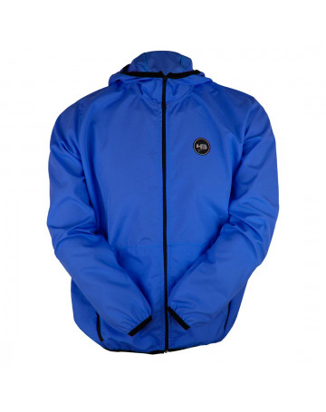 Jaqueta HB Corta Vento Zip Pocket Azul
