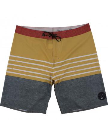 Bermuda Hang Loose Cos Morocco Extra Grande - Amarelo
