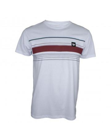 Camiseta Hang Loose Striped - Branco