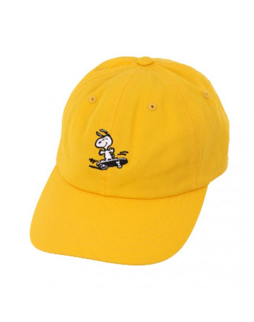 Boné HUF Snoopy Amarelo