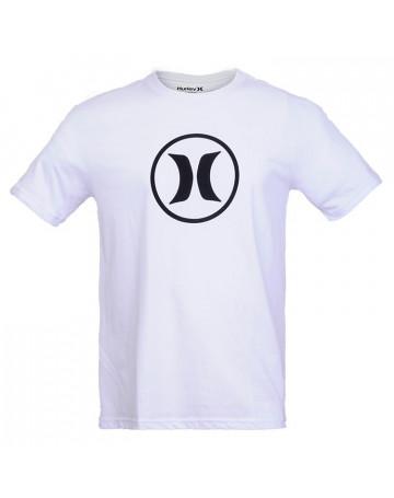 Camiseta Hurley Silk Block - Branco  f5abaf3c38b