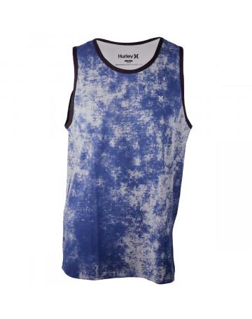 Regata Hurley Especial Splash Azul Cinza  6a709702165