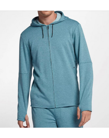 Moletom Hurley Dri-Fit Expedition Full-Zip - Azul