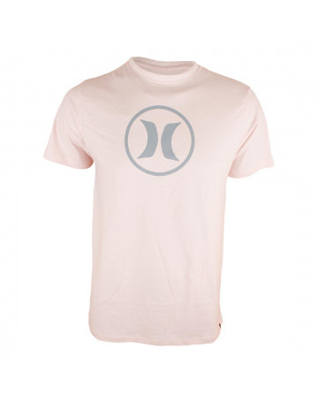 Camiseta Hurley Circle Icon - Rosa