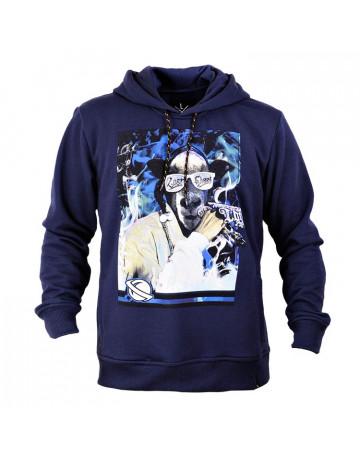 Moletom Lost Snoop Dog - Azul Escuro