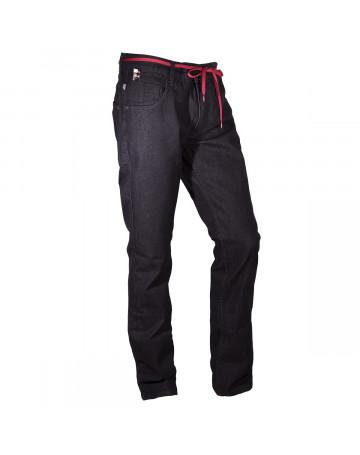 Calça Lost Jeans Skinny - Preto Mescla