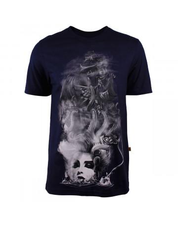 Camiseta Lost Girl Pirate Marinho