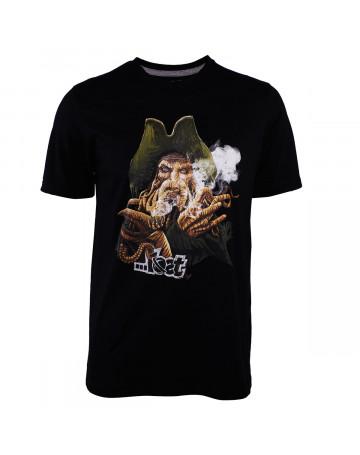 Camiseta Lost Davy Preta