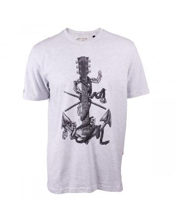Camiseta Lost Anchor Cinza Mescla  c83e48a7bae