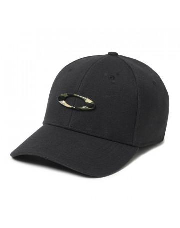 Boné Oakley Tincan Cap - Preto Camo
