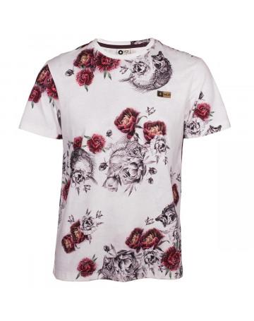 Camiseta MCD Flower Fish - Branco Floral  6c472ccbe76
