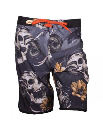 Bermuda Walk MCD Scream Skull - Cinza Preto  4599c9ed8f4