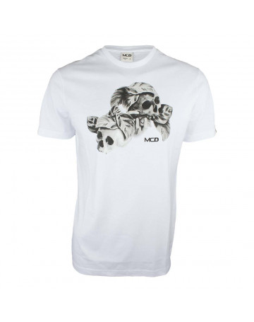 5d2fb720c1c17 Camiseta MCD Nightmare - Branca
