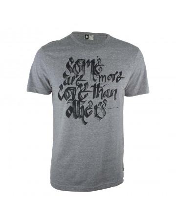 Camiseta MCD Core Lettering - Cinza Mescla