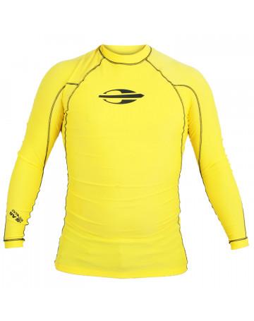 424b01f3f1eba Camiseta Mormaii Lycra Little Emblem - Amarela