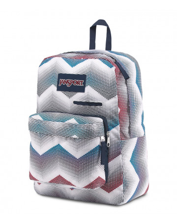 Mochila Jansport Digibreak - Cinza/Colors