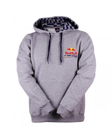 d4be1c8c117b5 Moletom Red Bull RBR Logo Cinza Mescla