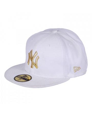 Boné New Era NY Gold 59 fifty
