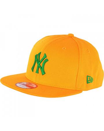 Boné New Era NY Yankees Green Amarelo