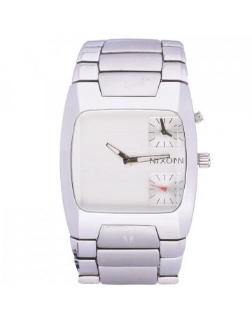 8fdc97c448e Relógio Nixon Banks Silver