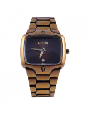 Relógio Nixon Small Player Dourado