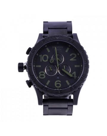 Relógio Nixon 51-30 Chrono Black SUP