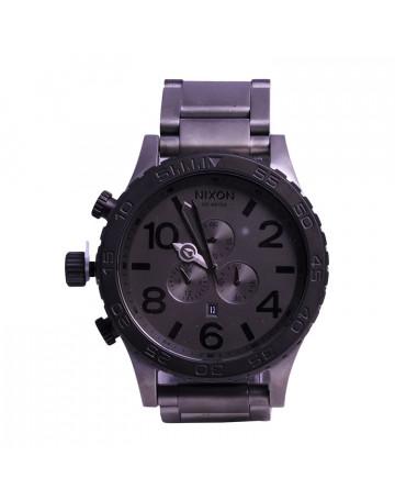 Relógio Nixon 51-30 Chrono Gun Black