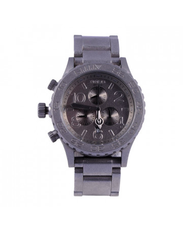Relógio Nixon 42-20 Chrono Steel