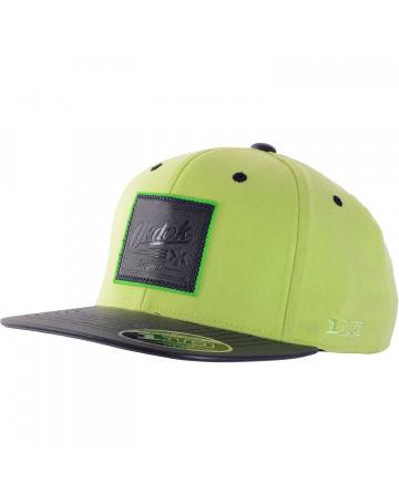 dd28826e1d892 Boné OKDOK Leather Logo 110 Verde