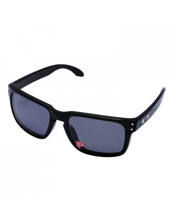 Óculos de Sol Holbrook Polished Black w/Grey Polarized