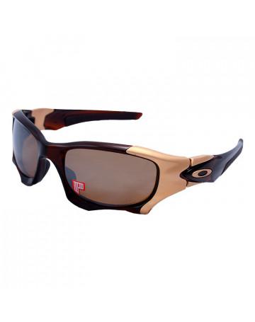 Óculos de Sol Oakley Pit Boss II Pol Rtbr w/Tungsten