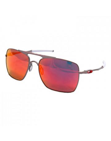 Óculos de Sol Oakley Deviation Espelhado Rubi