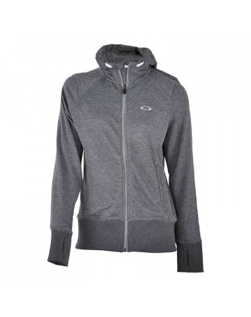 Moletom Oakley Feminino Top Speed Fleece - Cinza  f89e2c56732b2