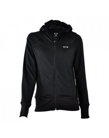 Moletom Oakley Feminino Top Speed Fleece - Preto  5f0086b98d926