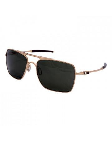 Óculos de Sol Oakley Deviation Fume Dourado