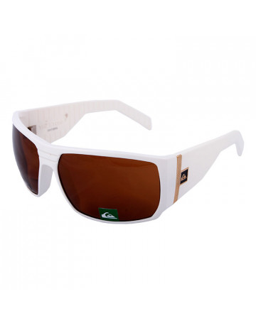 Óculos De Sol Quiksilver The Stomp White
