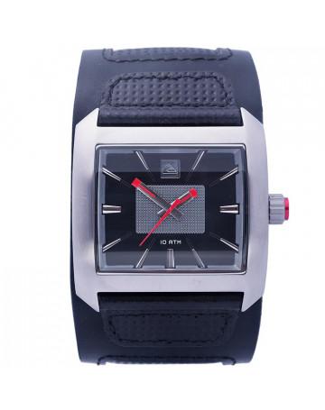 0ead0dec8456a Relógio Quiksilver Sequence Silver Black   Loja de Surf