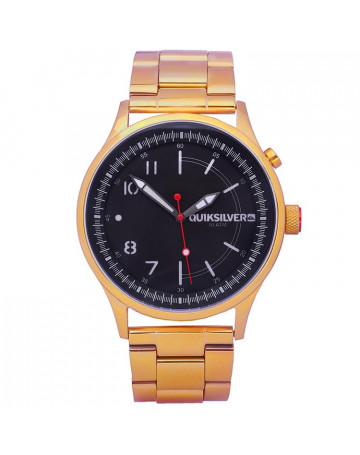 Relógio Quiksilver Admiral Metal Gold